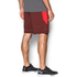 Under Armour Men's Raid International Shorts - Red/Steel: Image 4