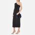 Diane von Furstenberg Women's Love Power Tipped Fox Puff Mini Bag - Cobalt: Image 2