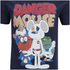 Danger Mouse Herren T-Shirt - Navy: Image 3