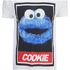 Cookie Monster Herren Street Cookie Monster T-Shirt - Weiß