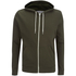 Brave Soul Men's Adrian Zip Through Hoody - Khaki: Image 1