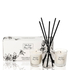 Stoneglow White Birch, Ylang and Pepper Candle and Reed Gift Set: Image 1