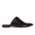 H Shoes by Hudson Women's Amelie Leather Pointed Flat Mules - Black: Image 1