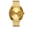 Nixon The Time Teller Watch - Gold: Image 1