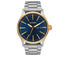 Nixon The Sentry SS Watch - Gold/Blue Sunray: Image 1