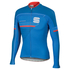 Sportful Gruppetto Thermal Long Sleeve Jersey - Blue: Image 1