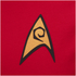T-Shirt Star Trek Uniforme Commandant - Rouge: Image 3