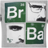 Breaking Bad Men's Square T-Shirt - Light Grey Marl: Image 3