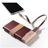 Lexon Fine Power Bank Mobile Charger - Burgundy: Image 5