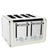 Dualit 46523 Architect 4 Slot Toaster - Canvas White