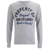 Tokyo Laundry Men's Rowe Creek Long Sleeve Top - Light Grey Marl: Image 1