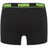 Puma Men's 2-Pack Trunks - Grey/Black: Image 3
