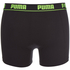 Puma Men's 2-Pack Boxers - Grey/Black: Image 3