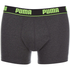 Puma Men's 2-Pack Boxers - Grey/Black: Image 4