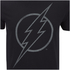 DC Comics Mens The Flash Line Logo T-Shirt - Zwart: Image 5