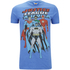 DC Comics Men's Justice League T-Shirt - Heather Royal: Image 1