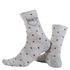 Nalini Wool Pois Socks - Grey: Image 1