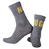 Nalini Blu Socks H19 - Grey/Orange: Image 1