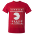 T-Shirt Homme Namco Merry PacMan - Rouge