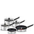 Tefal E824S544 Emotion Stainless Steel 5 Piece Set