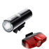 Cateye Volt 400 XC Front and Rapid Mini Rear Light Set: Image 1