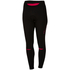 Castelli Women's Chic Tights - Black/Raspberry: Image 1