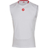 Castelli Prosecco Sleeveless Base Layer - White: Image 1