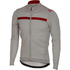 Castelli Costante Long Sleeve Jersey - Grey/Red: Image 1