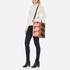Orla Kiely Women's Stem Print Leather Laurel Tote Bag - Hazel: Image 2