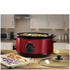 Swan SF17030ROUN 6.5L Slow Cooker - Rouge
