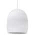 Graypants Bell Pendant - 10 Inch - White: Image 1
