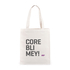 CoreBlimey Slogan Canvas Tas: Image 1