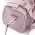 Grafea Women's Baby Luna Leather Shoulder Bag - Lavender: Image 7