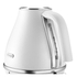 De'Longhi Elements Kettle and Four Slice Toaster - White: Image 3