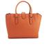 Lauren Ralph Lauren Women's Bethany Shopper Bag - Monarch Orange: Image 6