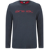 Animal Men's Utako Long Sleeve Top - Total Eclipse Navy: Image 1