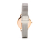 Olivia Burton Women's White Dial Mesh Watch - Rose Gold & Silver: Image 2
