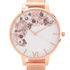 Olivia Burton Women's Winter Garden Watch - Rose Gold Mesh: Image 3