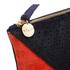Clare V. Women's Patchwork V Flat Clutch Bag - Patchwork Neuf: Image 4