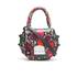 SALAR Women's Mimi Ring Snake Bag - Verde/Rosso: Image 1