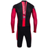 Santini Dirt Shell Aquazero Cyclocross Speedsuit - Black/Red