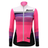 Santini Women's Coral Thermal Long Sleeve Jersey - Pink: Image 2