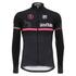 Santini Giro d'Italia 16 Maglia Nero Thermal Long Sleeve Jersey - Black: Image 2
