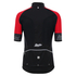 Santini Beta 2.0 Short Sleeve Wind Jersey - Red: Image 3