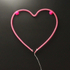 Nylon Heart Light (Battery Operated): Image 2