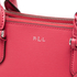 Lauren Ralph Lauren Women's Newbury Mini Double Zip Satchel - Rouge: Image 4