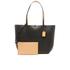 Lauren Ralph Lauren Women's Milford Olivia Tote Bag - Black/Camel: Image 7