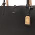 Lauren Ralph Lauren Women's Milford Olivia Tote Bag - Black/Camel: Image 4