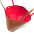 Lauren Ralph Lauren Women's Milford Olivia Tote Bag - Bourbon/Red: Image 5