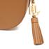 Lauren Ralph Lauren Women's Dryden Caley Mini Saddle Bag - Field Brown/Monarch Orange: Image 7